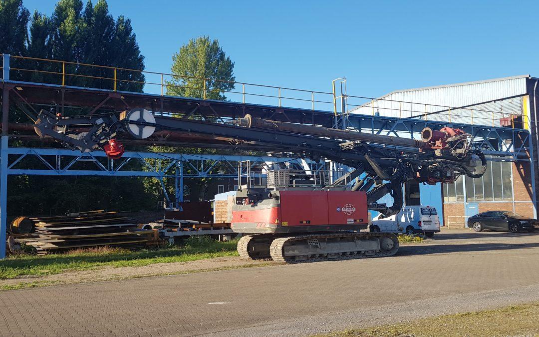 Nach zwei aufeinander folgenden Baustelleneinsätzen erstmalig auf unserem neuen Betriebsgelände in Gelsenkirchen